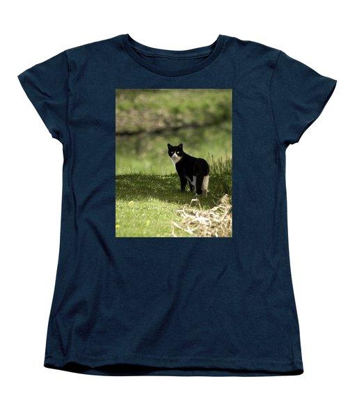Lilly Women's T-Shirt (Standard Cut) by Trish Tritz