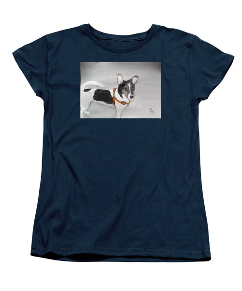 Lily Women's T-Shirt (Standard Cut) by Carole Robins