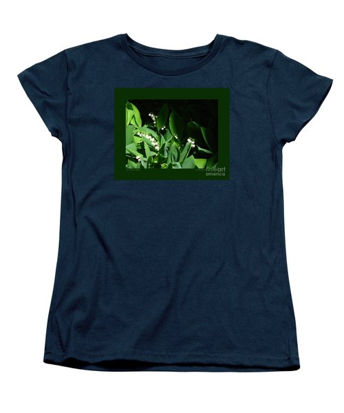 Lily Of The Valley Women's T-Shirt (Standard Cut) by Patricia Overmoyer
