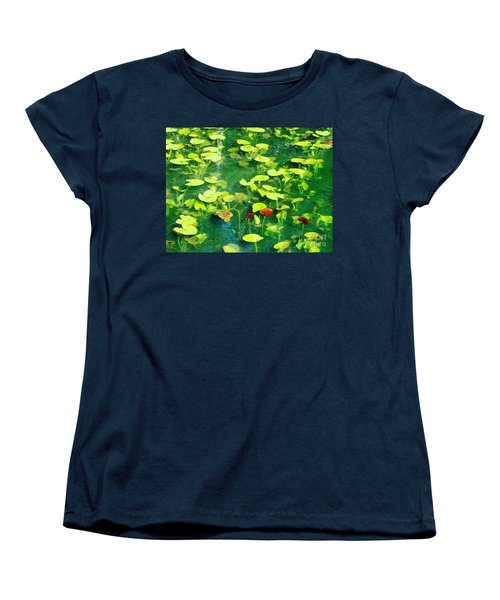 Lily Pads Women's T-Shirt (Standard Cut) by Melissa Stoudt