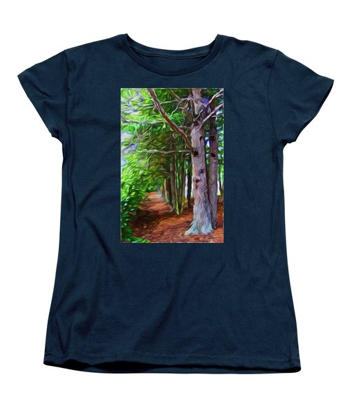Lincoln's Path Women's T-Shirt (Standard Cut) by Joan Reese