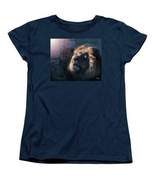 Lion Light Women's T-Shirt (Standard Cut) by Bill Stephens