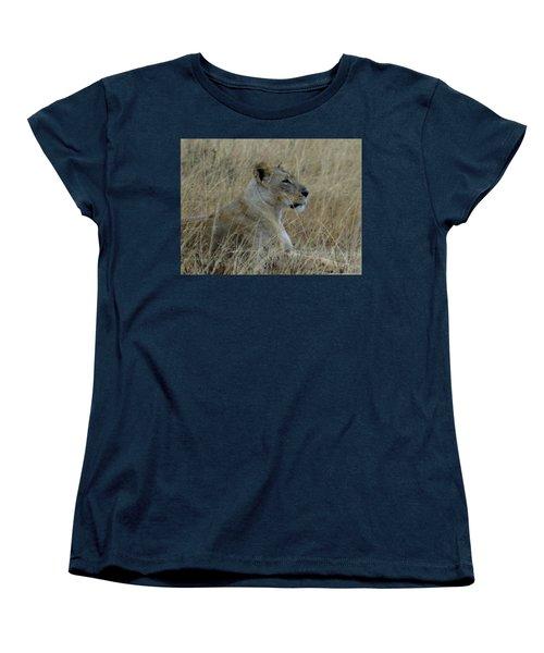 Lioness In The Grass Women's T-Shirt (Standard Fit)