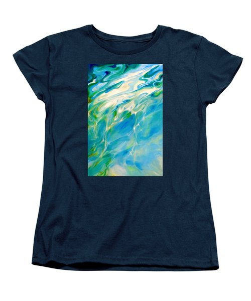 Liquid Assets Women's T-Shirt (Standard Cut) by Dina Dargo
