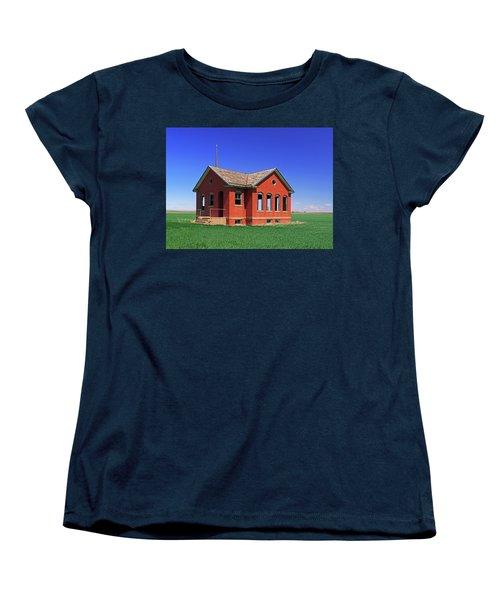 Little Brick School House Women's T-Shirt (Standard Cut) by Christopher McKenzie