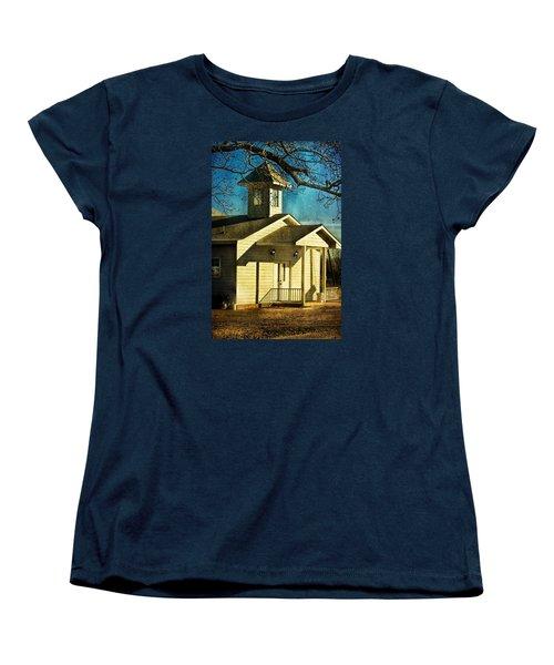 Women's T-Shirt (Standard Cut) featuring the photograph Little Church by Joan Bertucci