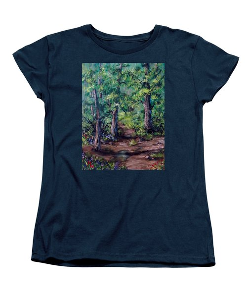 Little Clearing Women's T-Shirt (Standard Cut) by Megan Walsh