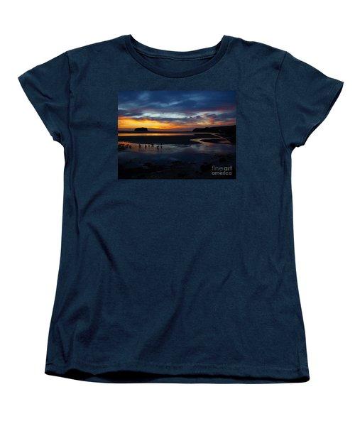 Women's T-Shirt (Standard Cut) featuring the photograph Little Ducks by Trena Mara