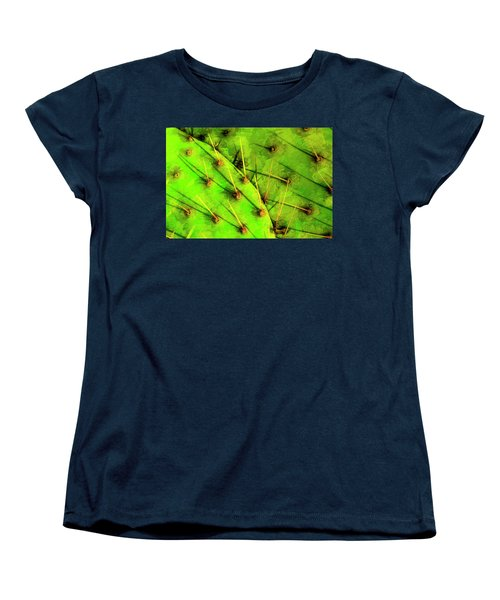 Women's T-Shirt (Standard Cut) featuring the photograph Prickly Pear by Paul Wear