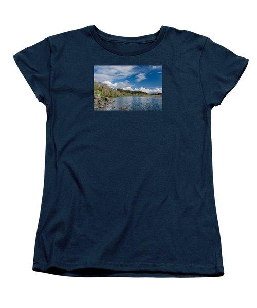 Little River In Spring Women's T-Shirt (Standard Cut) by Greg Nyquist