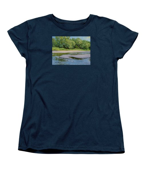 Little Sioux Sandbar Women's T-Shirt (Standard Cut) by Bruce Morrison