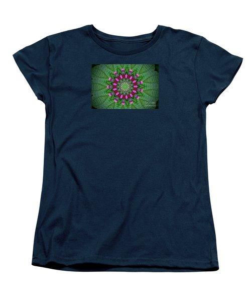 Little Weed Kaliedoscope Women's T-Shirt (Standard Cut) by Shirley Moravec