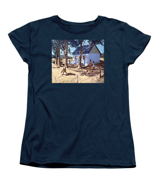 Little White House Karoo South Africa Women's T-Shirt (Standard Cut) by Andrew Macara