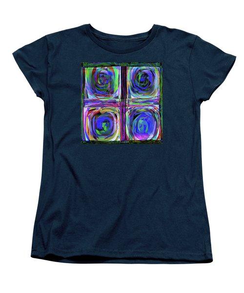 lLetter to Kandisky Women's T-Shirt (Standard Cut) by Danica Radman