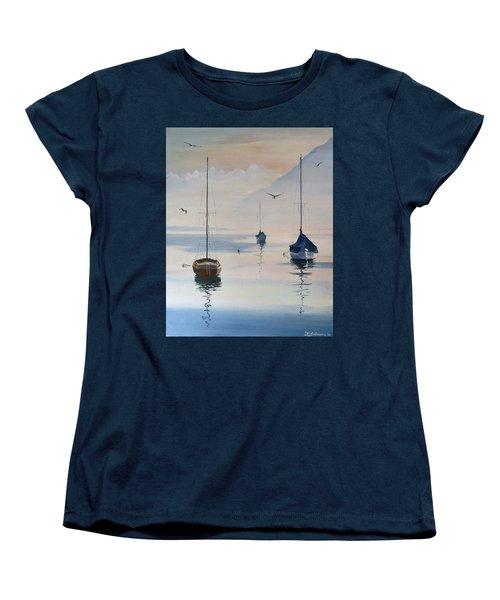 Locarno Boats In February-2 Women's T-Shirt (Standard Cut)