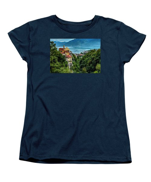 Locarno Overview Women's T-Shirt (Standard Cut) by Alan Toepfer