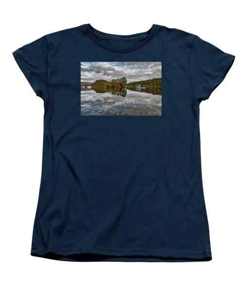 Loch Lomond At Aldochlay Women's T-Shirt (Standard Cut) by Jeremy Lavender Photography