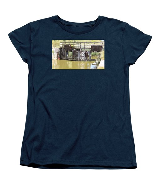 Lock Women's T-Shirt (Standard Cut) by Keith Sutton