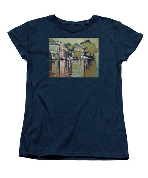 Lofts Along The River Zaan In Zaandam Women's T-Shirt (Standard Cut) by Nop Briex