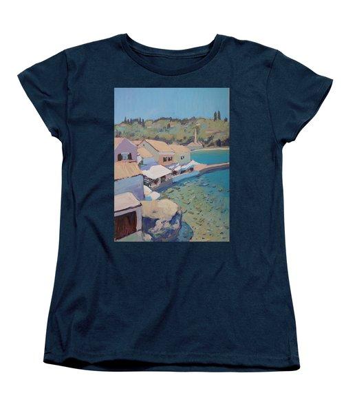 Loggos Pier View Women's T-Shirt (Standard Cut) by Nop Briex