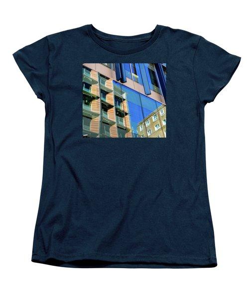 London Bankside Architecture 3 Women's T-Shirt (Standard Cut) by Judi Saunders