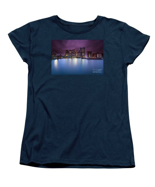 London Canary Wharf Women's T-Shirt (Standard Cut) by Mariusz Czajkowski
