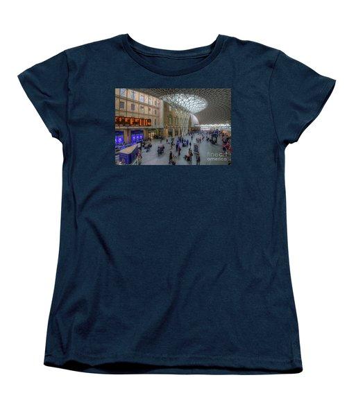 Women's T-Shirt (Standard Cut) featuring the photograph London King's Cross by Yhun Suarez
