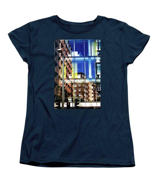 London Southwark Architecture 2 Women's T-Shirt (Standard Cut) by Judi Saunders
