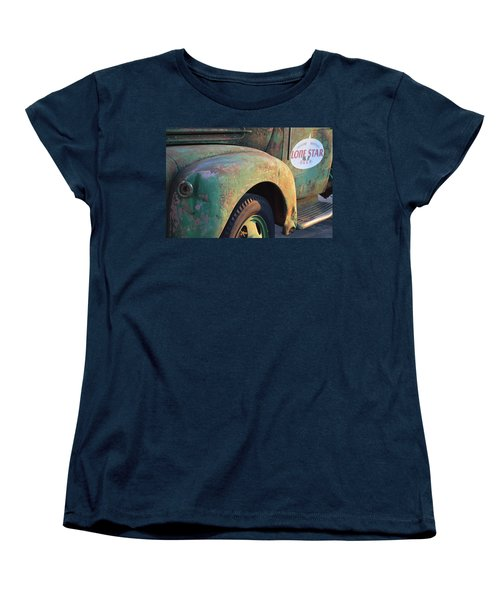 Women's T-Shirt (Standard Cut) featuring the photograph Lone Star Memories  by Carolina Liechtenstein