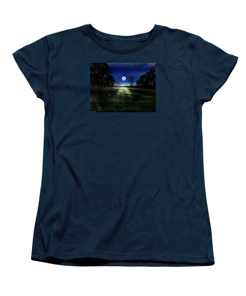 Loneliness Women's T-Shirt (Standard Cut) by Bernd Hau