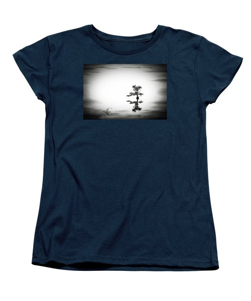 Women's T-Shirt (Standard Cut) featuring the photograph Loneliness by Eduard Moldoveanu