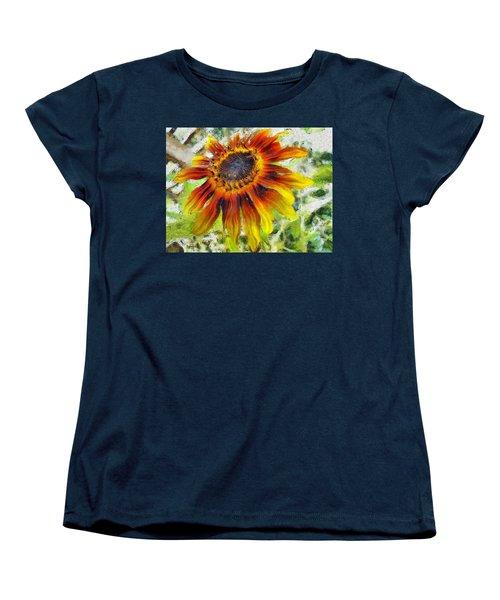 Lonely Sunflower Women's T-Shirt (Standard Cut)