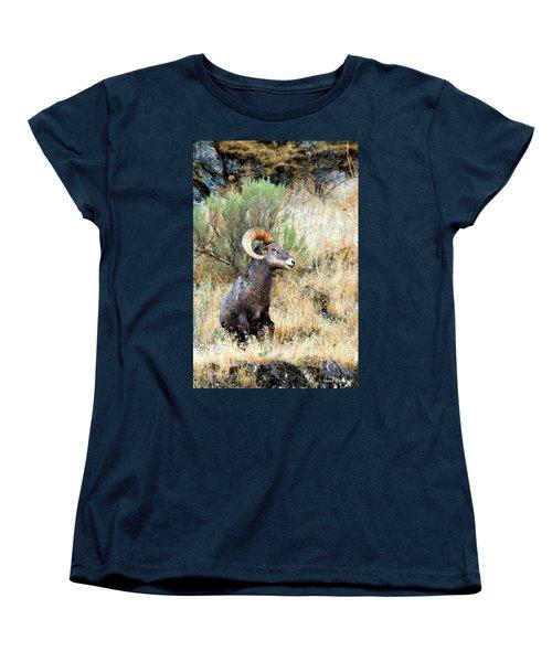 Loner Iv Women's T-Shirt (Standard Cut) by Steve Warnstaff