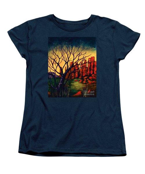 Lonesome Tree  Women's T-Shirt (Standard Cut)