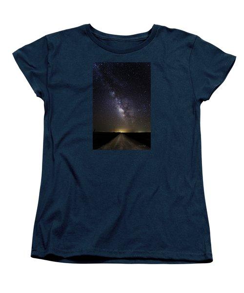 Long Road To Eden Women's T-Shirt (Standard Cut)