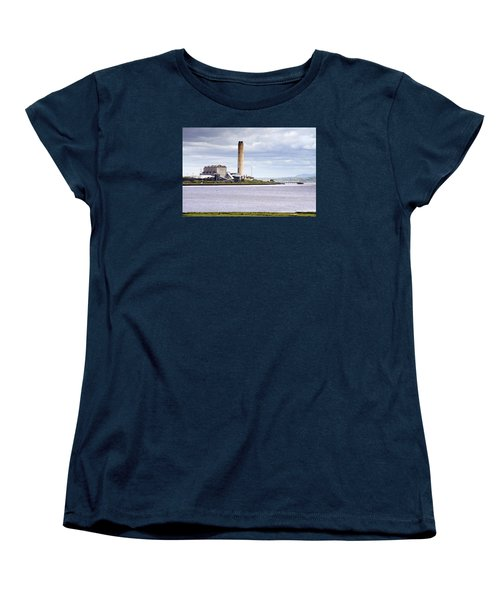 Women's T-Shirt (Standard Cut) featuring the photograph Longannet Power Station by Jeremy Lavender Photography