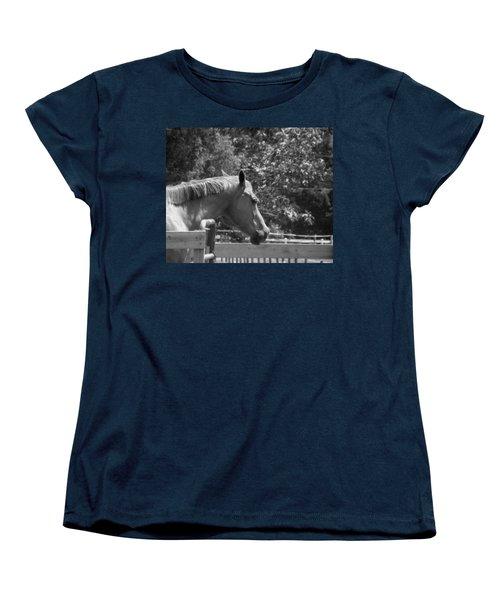 Women's T-Shirt (Standard Cut) featuring the photograph Longing by Sandi OReilly