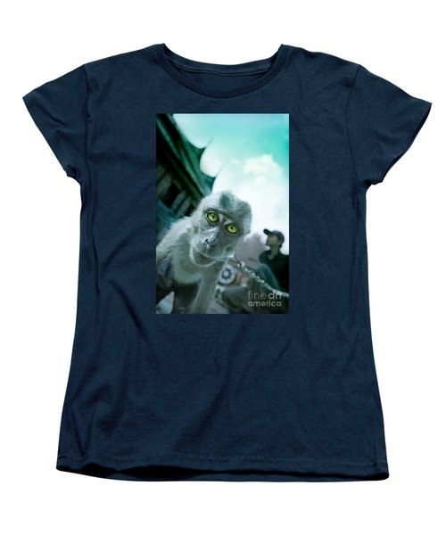 Look Into My Eyes Women's T-Shirt (Standard Cut) by Charuhas Images