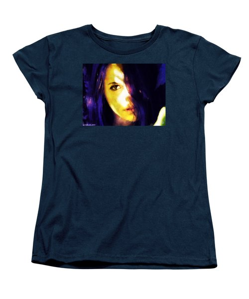 Looking At The World With One Eye Is Enough Women's T-Shirt (Standard Cut) by Gun Legler
