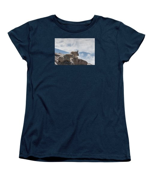 Women's T-Shirt (Standard Cut) featuring the photograph Looking Down On The World by Gary Lengyel