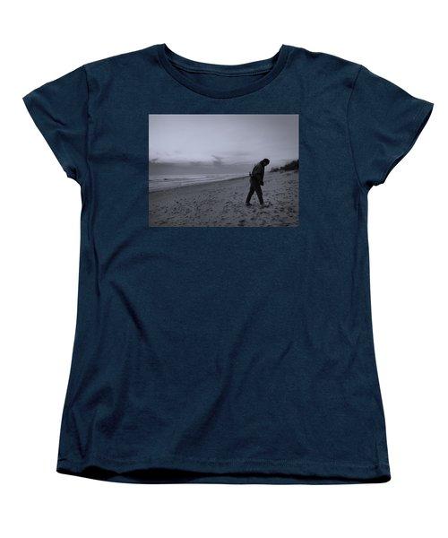 Looking For A Smooth Stone  Women's T-Shirt (Standard Cut) by John Hansen