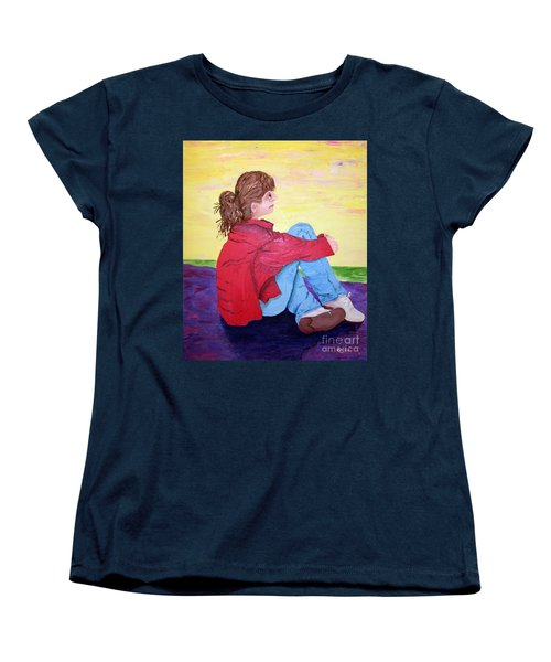 Looking For Hope Women's T-Shirt (Standard Cut) by Lisa Rose Musselwhite