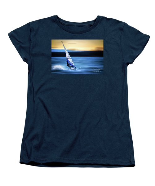 Women's T-Shirt (Standard Cut) featuring the photograph Looking Forward by Hannes Cmarits