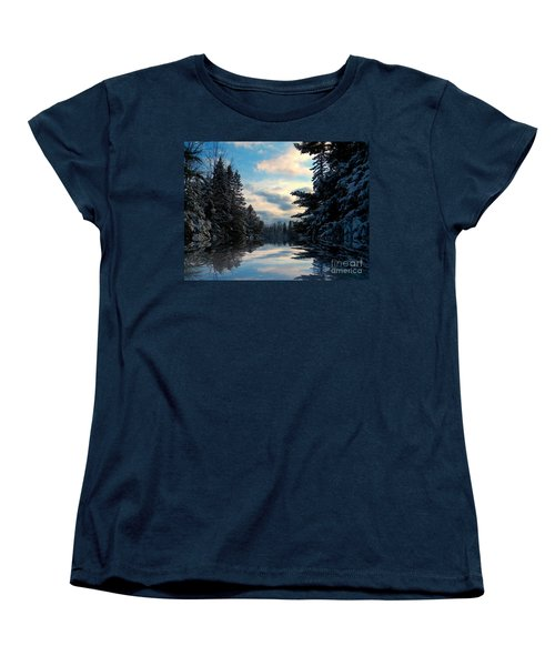 Women's T-Shirt (Standard Cut) featuring the photograph Looking Glass by Elfriede Fulda
