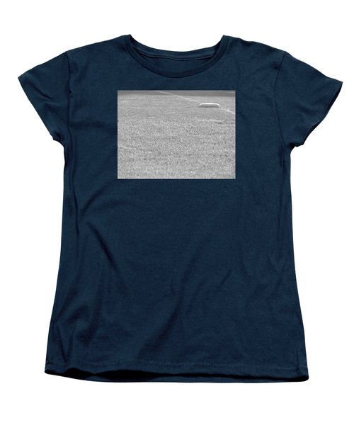 Looking In To Third Base Women's T-Shirt (Standard Cut) by Erick Schmidt