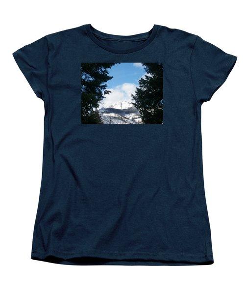Looking Through Women's T-Shirt (Standard Cut) by Jewel Hengen