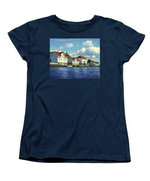 Loshavn Village Norway Women's T-Shirt (Standard Cut)