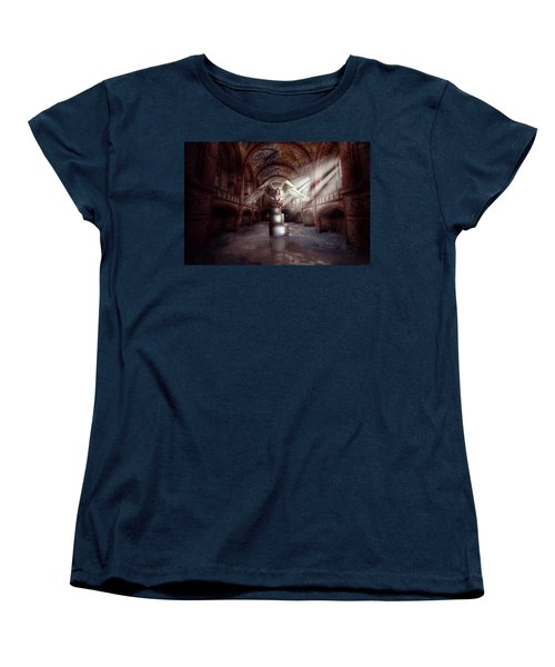Women's T-Shirt (Standard Cut) featuring the digital art Losing My Religion by Nathan Wright