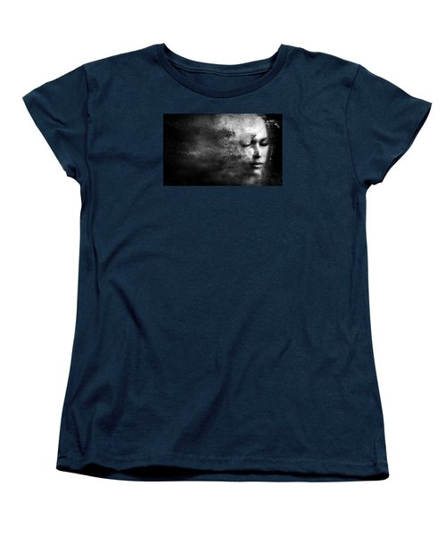 Losing Myself Women's T-Shirt (Standard Cut) by Jacky Gerritsen