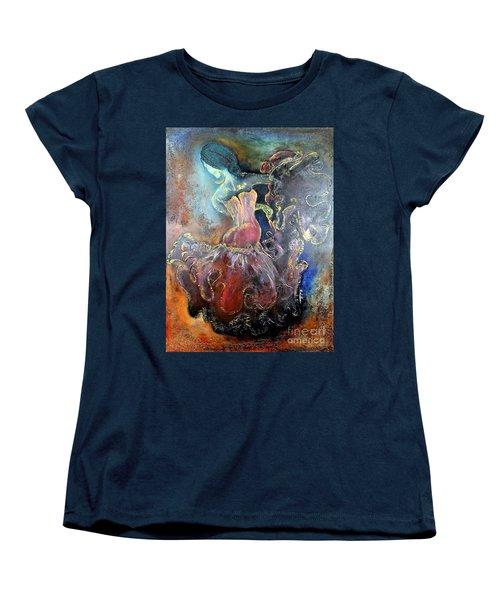 Lost In The Motion Women's T-Shirt (Standard Cut) by Farzali Babekhan